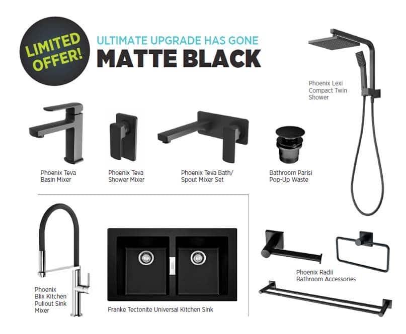 Limited offer: Ultimate upgrade has gone MATTE BLACK
