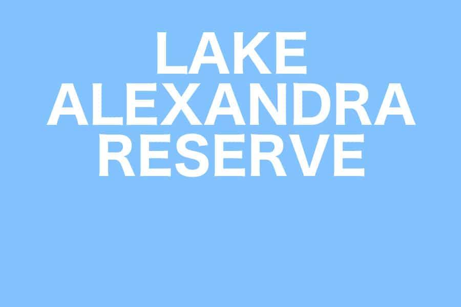 Picnic at Lake Alexandra Reserve