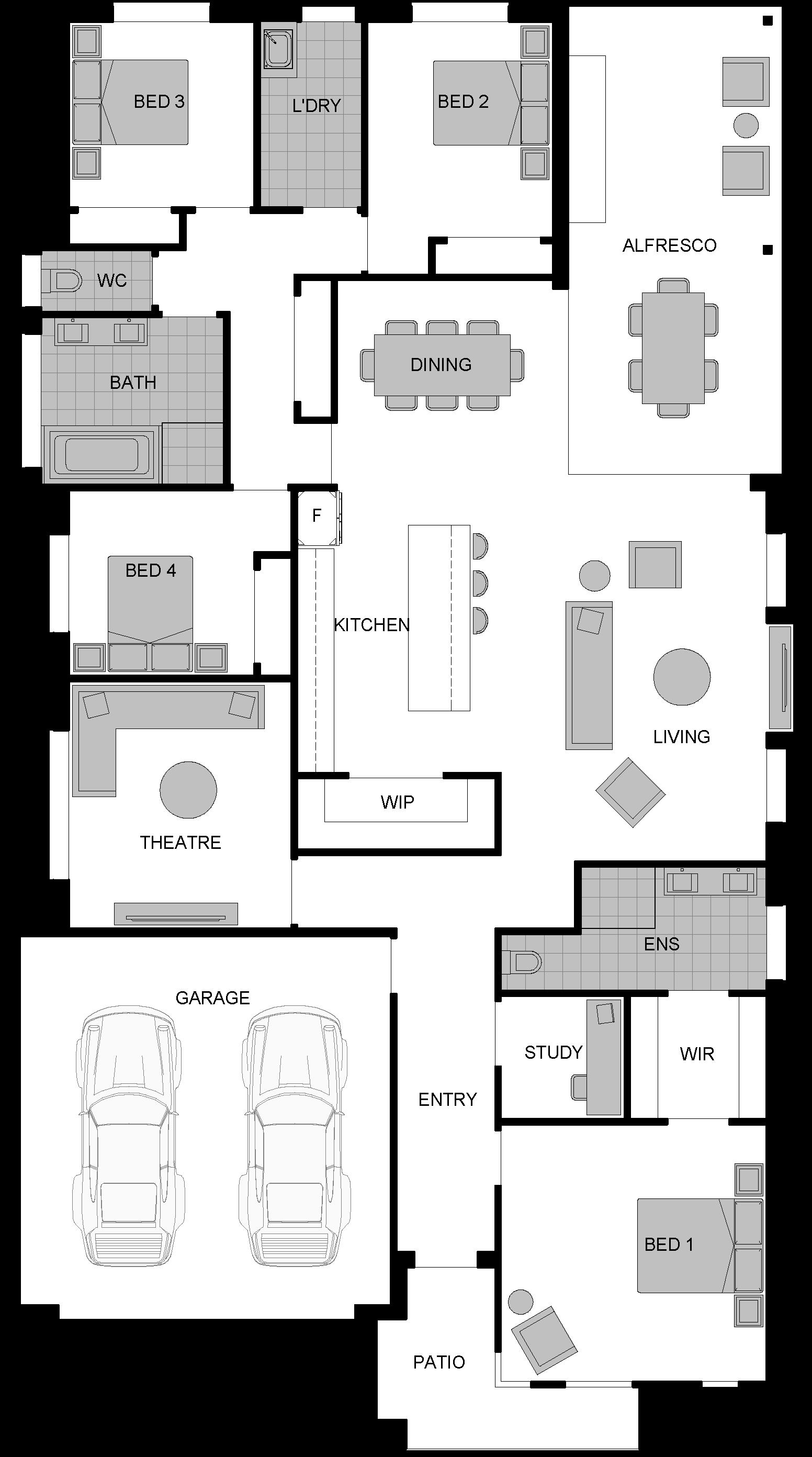 display home albion floor plan