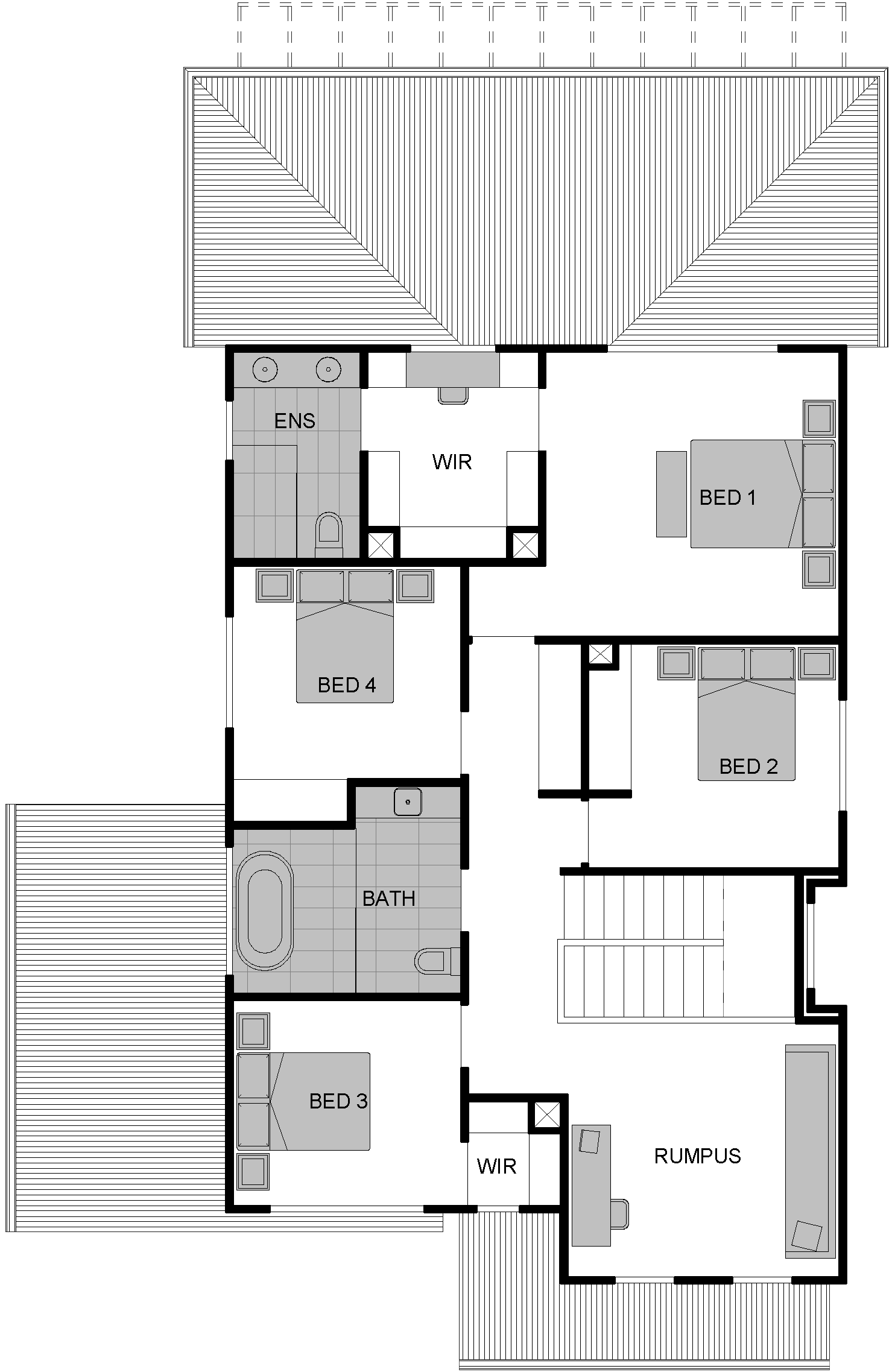 display home albion floor plan