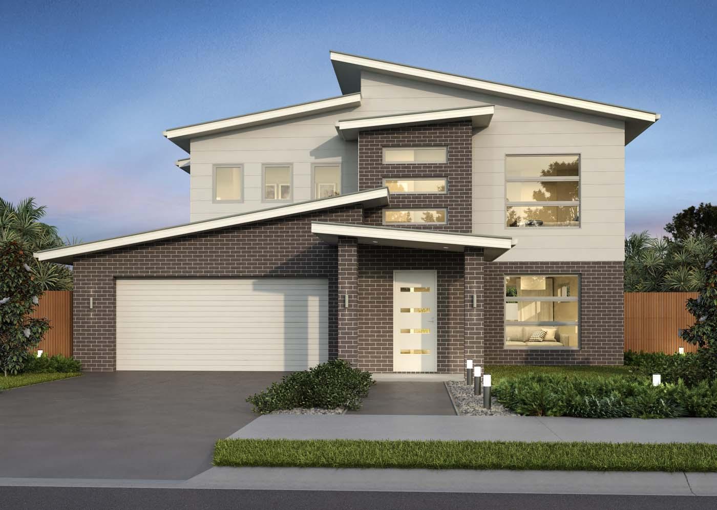 Double Storey Home Design 4 Bedroom Floor Plan Macquarie