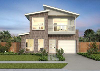Ridgewood Narrow Block Home Design Classic