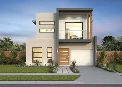 Ridgewood Narrow Block Home Design Metro